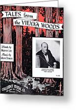 Tales From The Vienna Woods Greeting Card