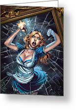 Tales From Wonderland Alice  Greeting Card