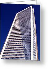 Tall Highrise Building Greeting Card