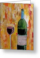 Tall Merlot Greeting Card