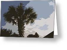 Tall Palm Greeting Card