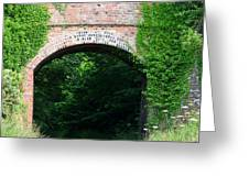 Tall Railway Bridge Greeting Card