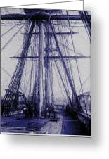 Tall Ship 2 Greeting Card