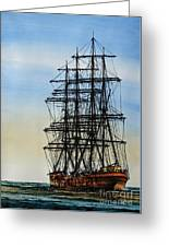 Tall Ship Beauty Greeting Card