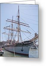 Tall Ship Elissa - Galveston Texas Greeting Card