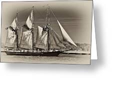 Tall Ship II Greeting Card