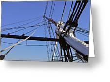 Tall Ship Iv Greeting Card