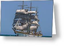 Tall Ship Mircea Greeting Card