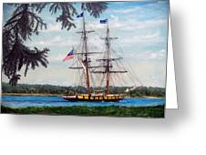 The Tall Ship Niagara Greeting Card
