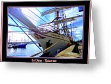 Tall Ships 2013 Greeting Card