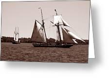 Tall Ships 3 Greeting Card