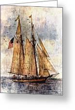 Tall Ships Art Greeting Card