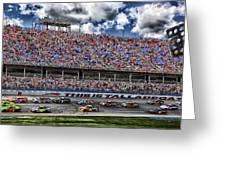 Talladega Superspeedway In Alabama Greeting Card