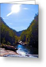 Tallulah Gorge In October Greeting Card