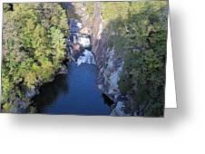 Tallulah Gorge Greeting Card