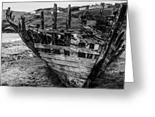 Talmine Shipwreck Greeting Card