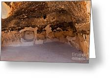 Talus Housefront Room Bandelier National Monument Greeting Card