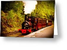 Talyllyn Railway 4 Greeting Card