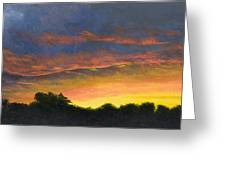 Tamarac Sunset Greeting Card