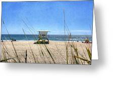 Tamarack Beach Greeting Card