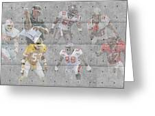 Tampa Bay Buccaneers Legends Greeting Card