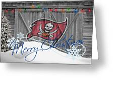 Tampa Bay Buccaners Greeting Card