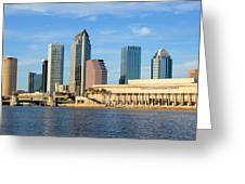 Tampa Bay Classic View Greeting Card
