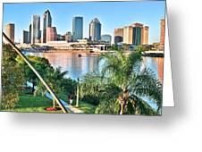 Tampa Bay Florida Greeting Card