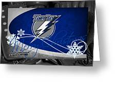 Tampa Bay Lightning Christmas Greeting Card
