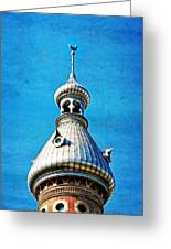Tampa Beauty - University Of Tampa Photography By Sharon Cummings Greeting Card