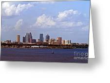Tampa Cityscape Greeting Card