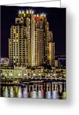 Embassy Suites Tampa Florida Greeting Card