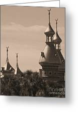 Tampa Minarets  Greeting Card