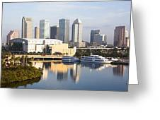 Tampa Reflections Greeting Card