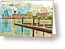 Tampa Skyline Greeting Card