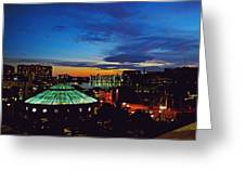 Tampa Sunset Greeting Card