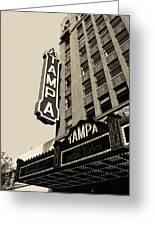 Tampa Theatre Greeting Card