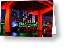 Colorful Tampa Bay Florida Greeting Card