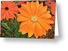 Tangerine Punch Greeting Card