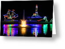 Tanglewood Festival Of Lights Greeting Card