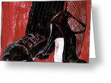 Tango Greeting Card by Debbie DeWitt