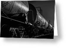 Tanker Cars Greeting Card by Bob Orsillo