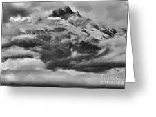 Tantalus Mountain Storms Greeting Card