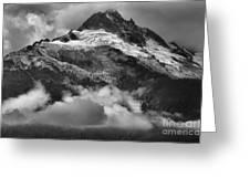 Tantalus Mountains - Canadian Coastal Mountain Range Greeting Card