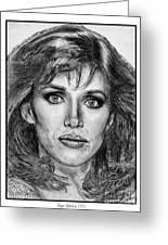 Tanya Roberts In 1981 Greeting Card