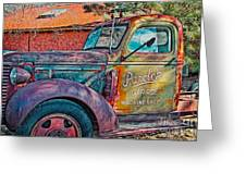 Taos Chevy Greeting Card