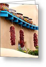 Taos Chili Decor Greeting Card