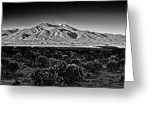 Taos In Black And White X Greeting Card