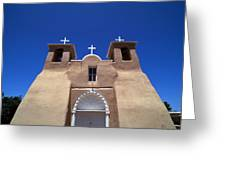 Taos Mission Greeting Card