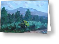 Taos Mountain Greeting Card